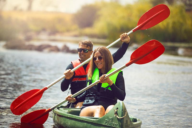 Kayaking at Glen Innes